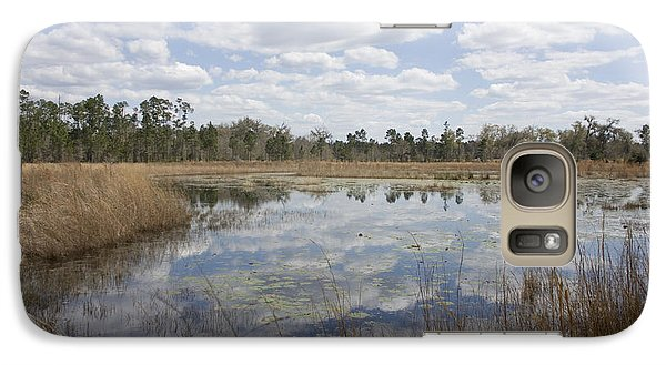 Galaxy Case featuring the photograph Reflections by Lynn Palmer