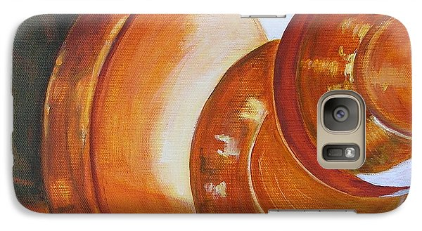 Galaxy Case featuring the painting Reflections by Mary Kay Holladay