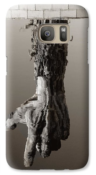 Galaxy Case featuring the photograph Reflections Of The Past by Raymond Earley