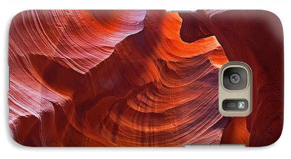 Galaxy Case featuring the photograph Reflections On The Rock by Bob and Nancy Kendrick