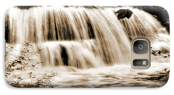 Galaxy Case featuring the photograph Refreshing Gratification by Janie Johnson
