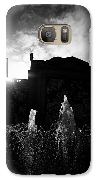 Galaxy Case featuring the photograph Refreshing Suspension by JM Photography