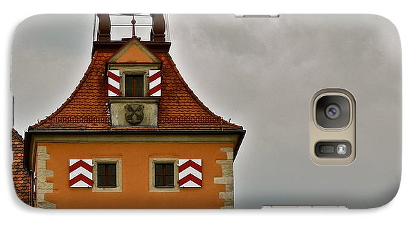 Galaxy Case featuring the photograph Regensburg Clock Tower by Kirsten Giving