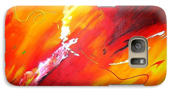 Galaxy Case featuring the painting Release by Mary Kay Holladay