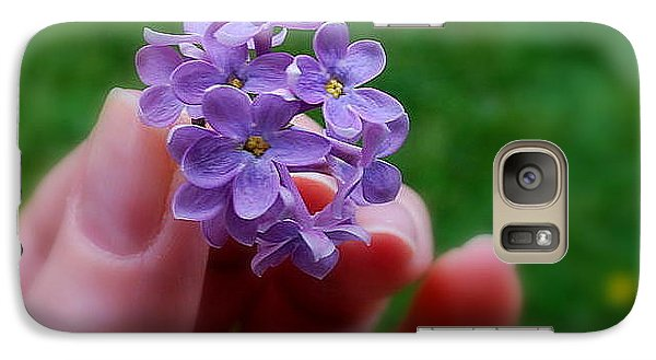 Galaxy Case featuring the photograph Make A Wish by Marija Djedovic