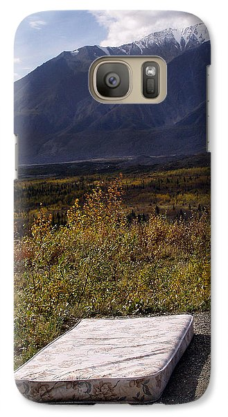 Galaxy Case featuring the photograph Rest And Enjoy The Great Outdoors by Karen Lee Ensley