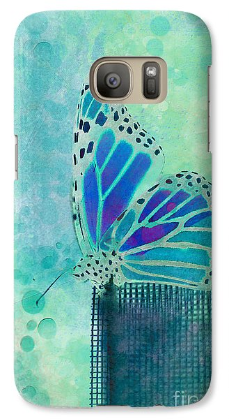 Butterfly Galaxy S7 Case - Reve De Papillon - S02b by Variance Collections