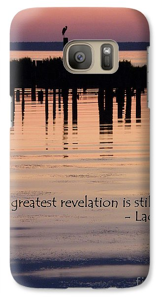 Galaxy Case featuring the photograph Revelation by Lainie Wrightson