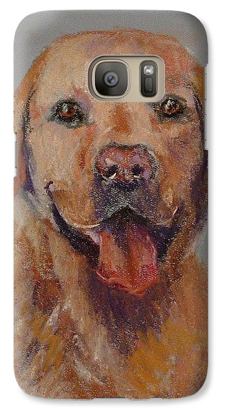 Galaxy Case featuring the painting Rex  by Carol Berning
