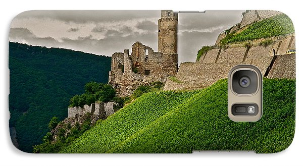 Galaxy Case featuring the photograph Rhine River Medieval Castle by Kirsten Giving
