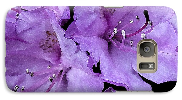 Galaxy Case featuring the photograph Rhododendron II by Michael Friedman