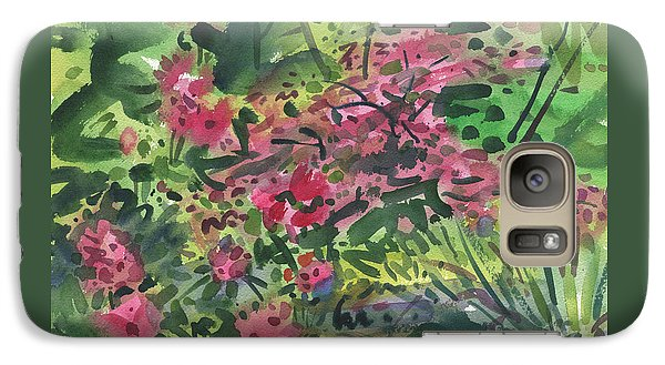 Galaxy Case featuring the painting Rhododendrons And Azaleas by Donald Maier