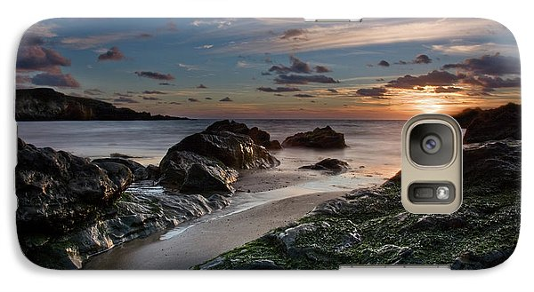 Galaxy Case featuring the photograph Rhosneigr Sunset  by Beverly Cash