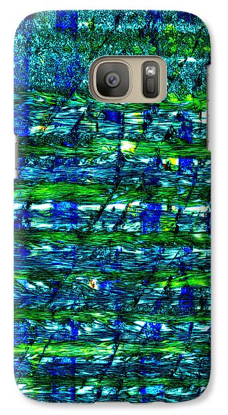Galaxy Case featuring the mixed media Rice Harvest by Terence Morrissey
