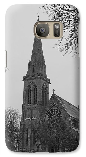 Galaxy Case featuring the photograph Richmond Village Church by Maj Seda