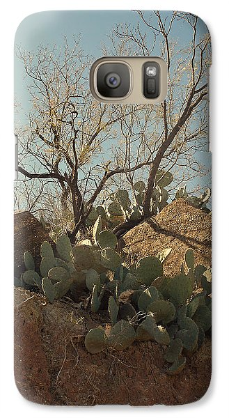 Galaxy Case featuring the photograph Ridgeline by Louis Nugent