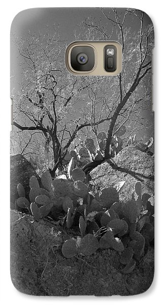 Galaxy Case featuring the photograph Ridgeline Two by Louis Nugent