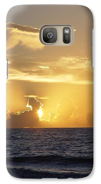 Galaxy Case featuring the photograph Rise Over Atlantic by Elizabeth Sullivan