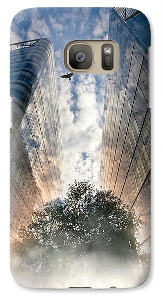 Galaxy Case featuring the photograph Rise by Richard Piper