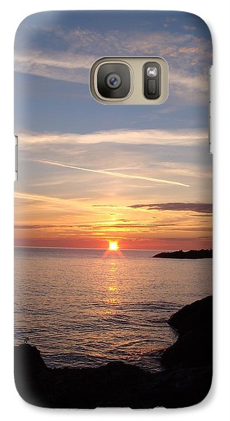 Galaxy Case featuring the photograph Rising Sun by Bonfire Photography