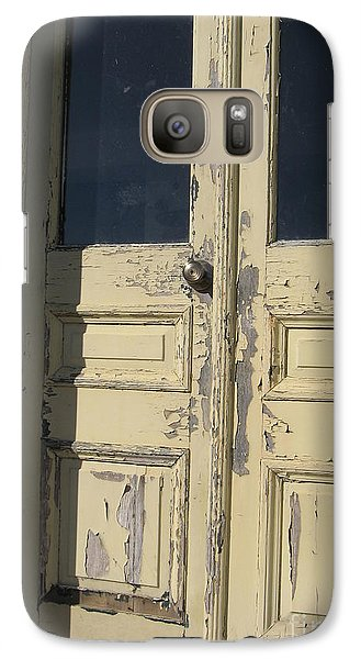 Galaxy Case featuring the photograph Rivah House by Nancy Dole McGuigan