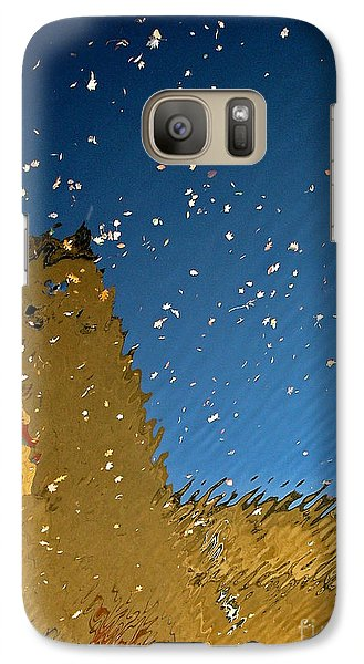 Galaxy Case featuring the photograph River Crossing Border Crossing by Andy Prendy
