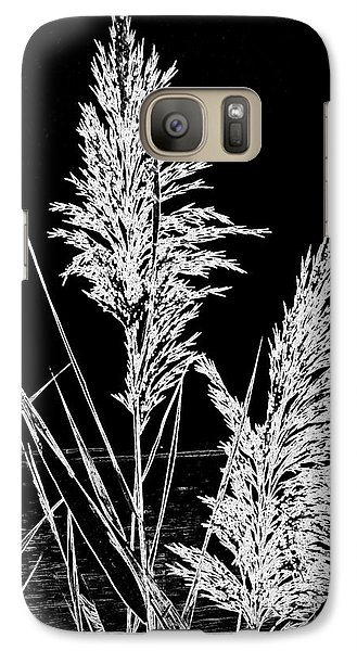 Galaxy Case featuring the photograph River Grass by Nancy Dole McGuigan