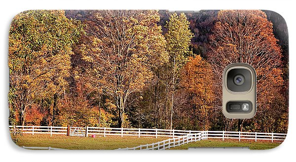 Galaxy Case featuring the photograph River Road by Tom Singleton