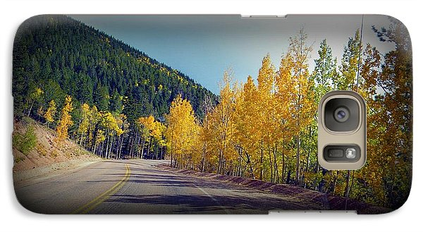 Galaxy Case featuring the photograph Road To Fall by Michelle Frizzell-Thompson