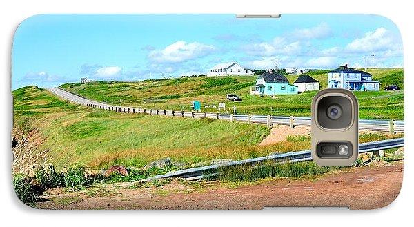 Galaxy Case featuring the photograph Road Trip In Cape Breton Nova Scotia by Joe  Ng