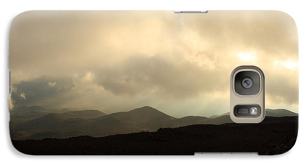 Galaxy Case featuring the photograph Road Up Mauna Kea by Scott Rackers