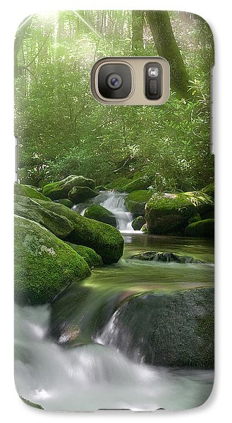 Galaxy Case featuring the photograph Roaring Fork by Cindy Haggerty