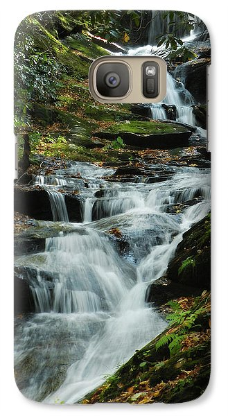 Galaxy Case featuring the photograph Roaring Fork Falls by Deborah Smith