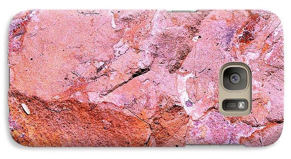 Galaxy Case featuring the photograph Rock Art 5 by M Diane Bonaparte
