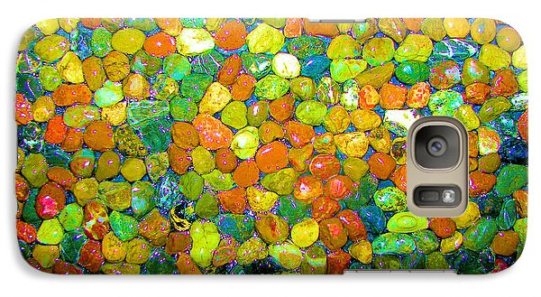 Galaxy Case featuring the photograph Rock Candy by Carolyn Repka