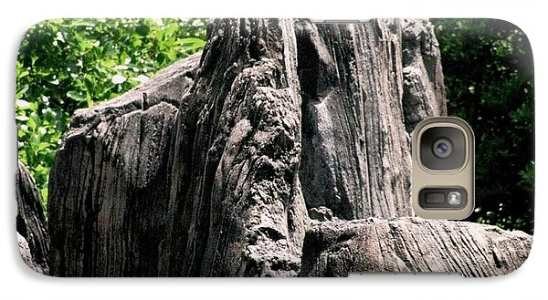 Galaxy Case featuring the photograph Rock Formation by Maria Urso