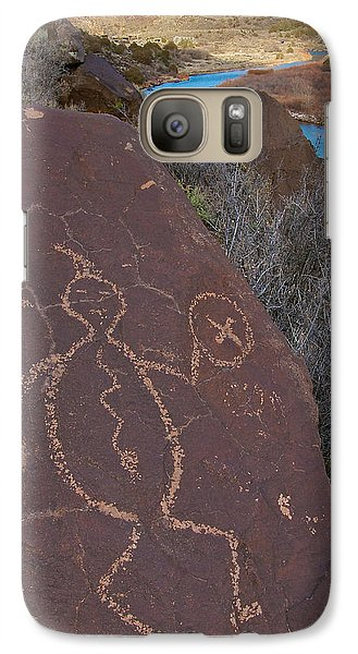Galaxy Case featuring the photograph Rock Warrior by Britt Runyon