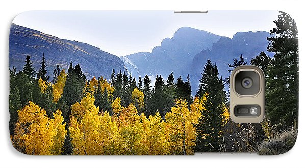 Galaxy Case featuring the photograph Rocky Mountain Aspens by Nava Thompson