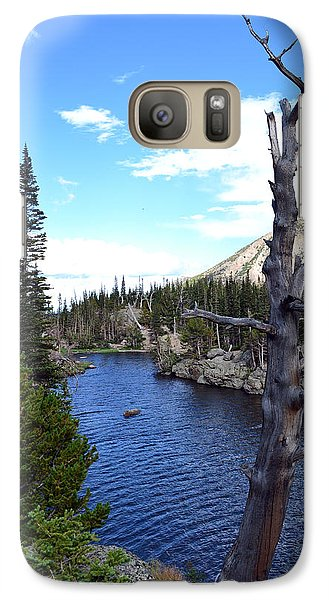Galaxy Case featuring the photograph Rocky Mountain National Park1 by Zawhaus Photography