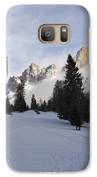 Galaxy Case featuring the photograph Roda Di Vael 2 by Raffaella Lunelli