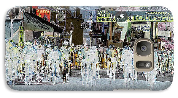 Galaxy Case featuring the photograph Rolling Down Bullard Street by Vicki Pelham