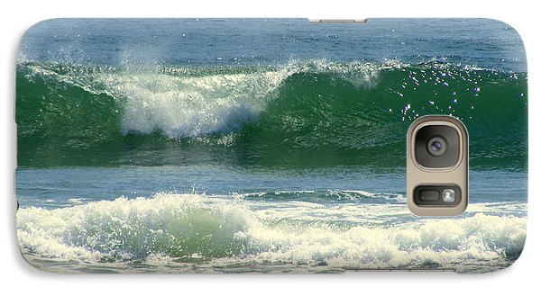 Galaxy Case featuring the photograph Rolling Wave by Kelly Nowak