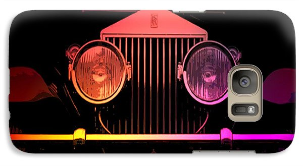 Galaxy Case featuring the photograph Rolls Royce Smile by George Pedro
