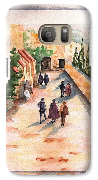 Galaxy Case featuring the painting Roman Avenue by Sharon Mick