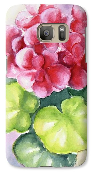 Galaxy Case featuring the painting Room Plant by Inese Poga