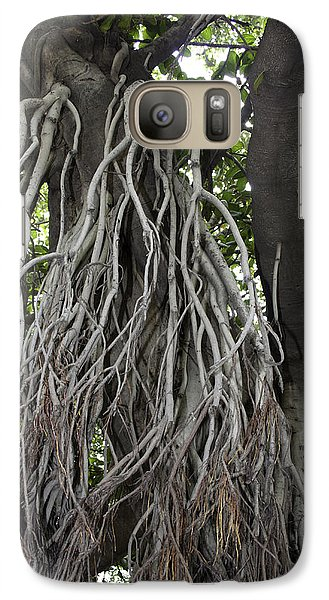 Galaxy Case featuring the photograph Roots From A Large Tree Inside Jallianwala Bagh by Ashish Agarwal