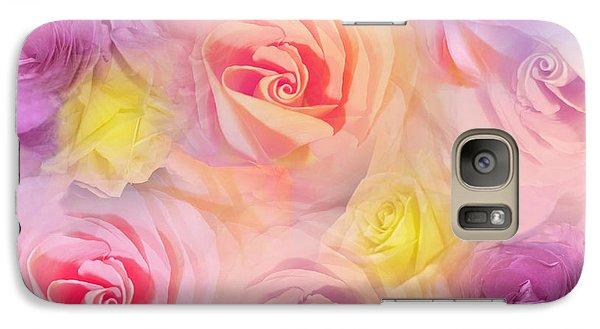 Galaxy Case featuring the photograph Rose Bouquet by Cindy Lee Longhini