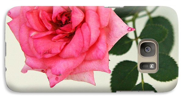 Galaxy Case featuring the photograph Rose In Full Bloom by Brooke T Ryan