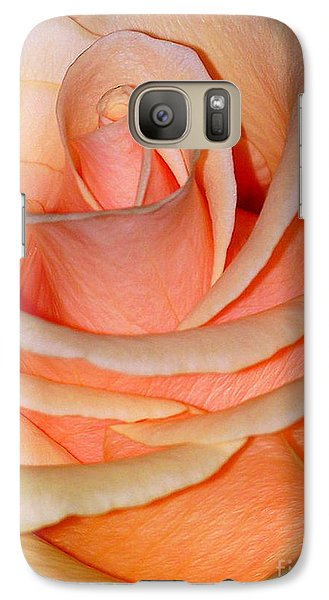 Galaxy Case featuring the photograph Rose by Sylvie Leandre