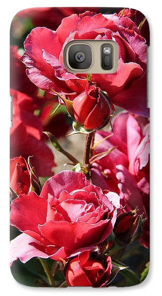 Galaxy Case featuring the photograph Roses by Kerri Ligatich